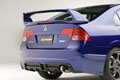 2008 Civic Mugen Si Sedan Rear View