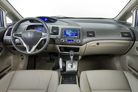 Civic Hybrid Interior