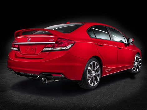 2013 Honda Civic - Many Small Changes Make a Big Difference at PRO Car Studio