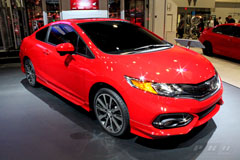 2014 Honda Civic Coupe at SEMA