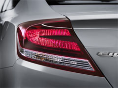 2014 Honda Civic Coupe Tail Light