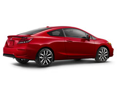 2014 Honda Civic Coupe Rear Quarter