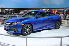 2016 Honda Civic Coupe Side Front