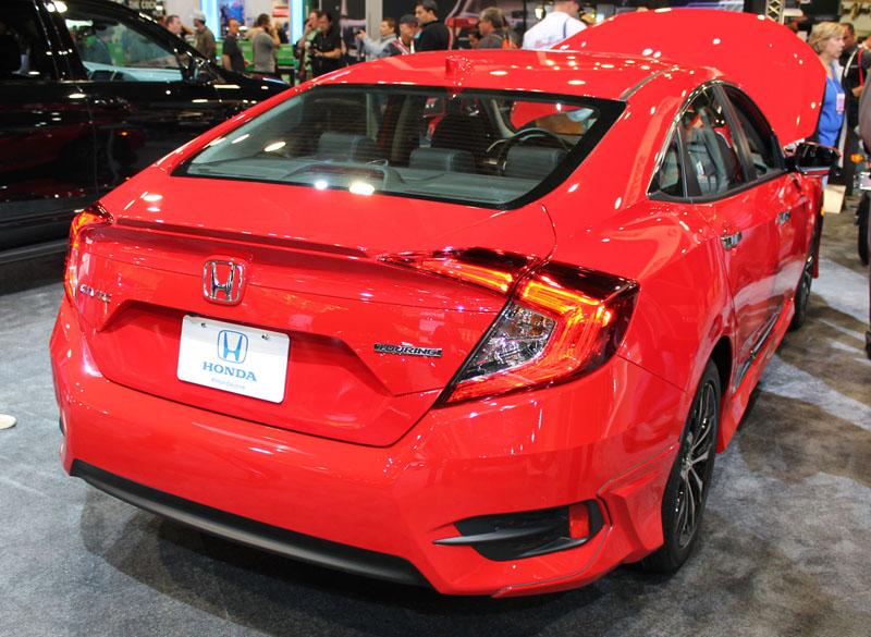 Honda Civic Sedan Back