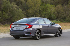 2016 Honda Civic Sedan Side Rear