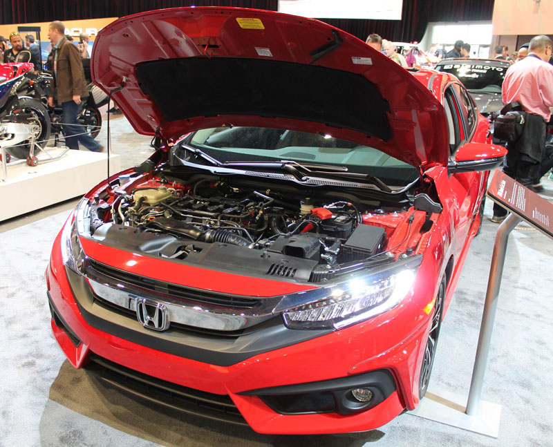 Honda Civic Sedan Front Open