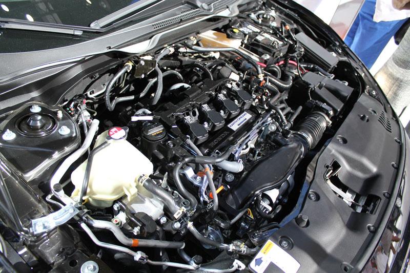 2016 Honda Civic 15L Turbo Engine