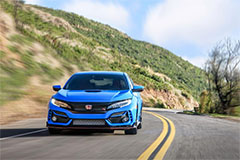 2020 Honda Civic Type R in Boost Blue - Front
