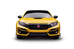 2021 Honda Civic Type R Limited Edition in Phoenix Yellow - Front