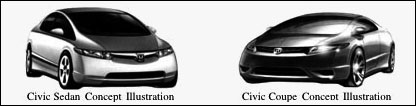 2006 Civic Concepts