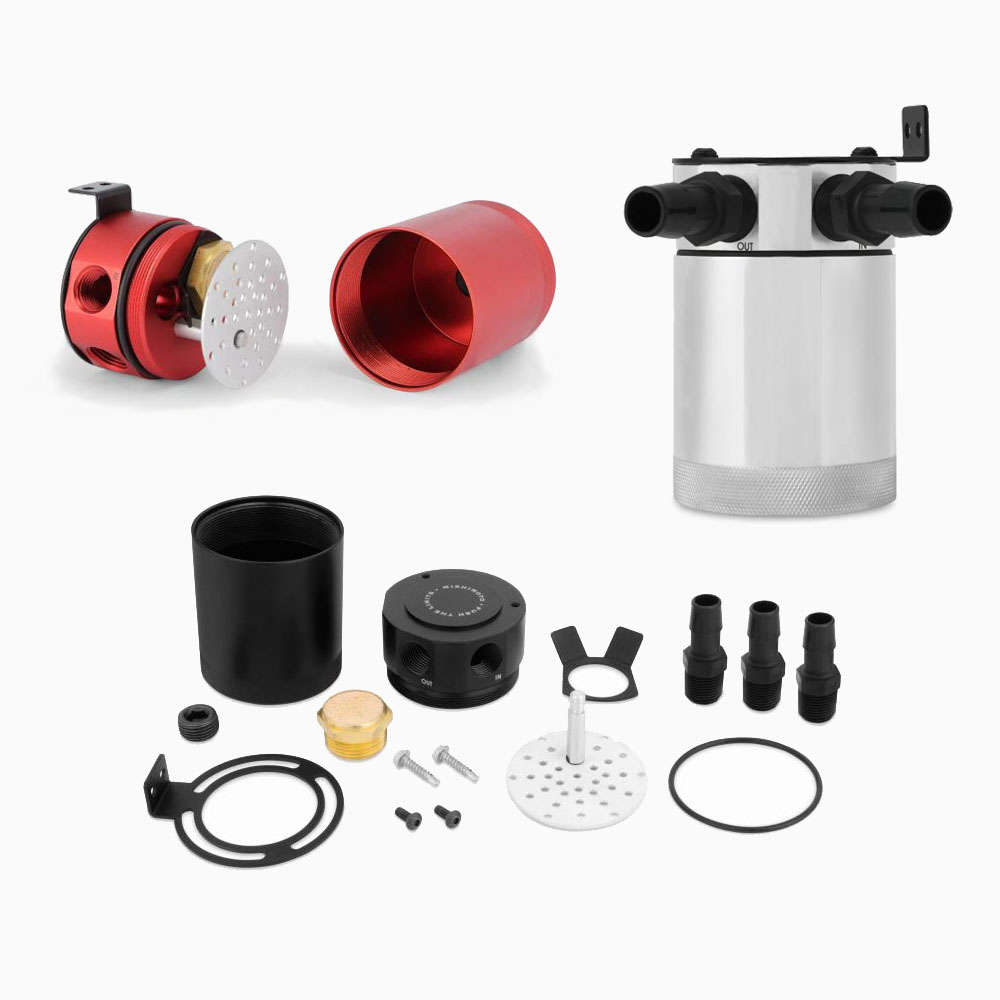 Mishimoto Baffled Oil Catch Can For 2014 Honda Civic