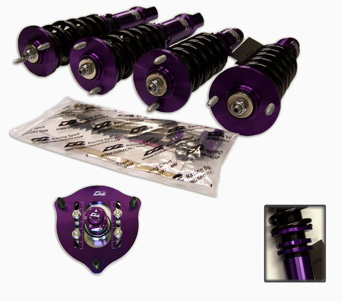D2 Racing Rs Full Coilovers For 18 17 16 15 14 13 12 11 10 Honda Civic