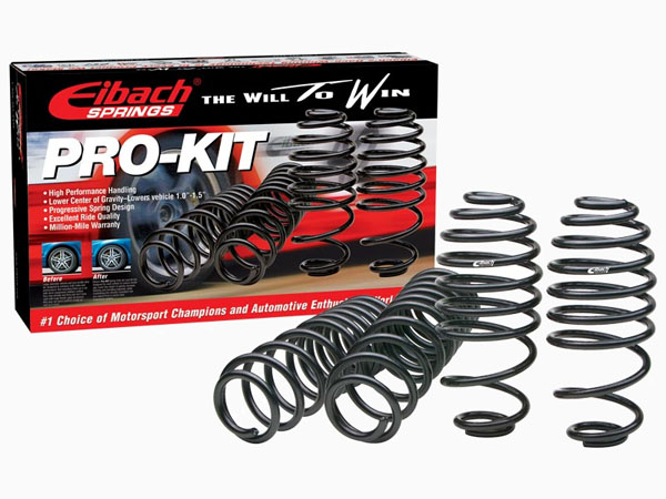 eibach pro kit lowering springs for 17 16 15 14 13 12 11. Black Bedroom Furniture Sets. Home Design Ideas