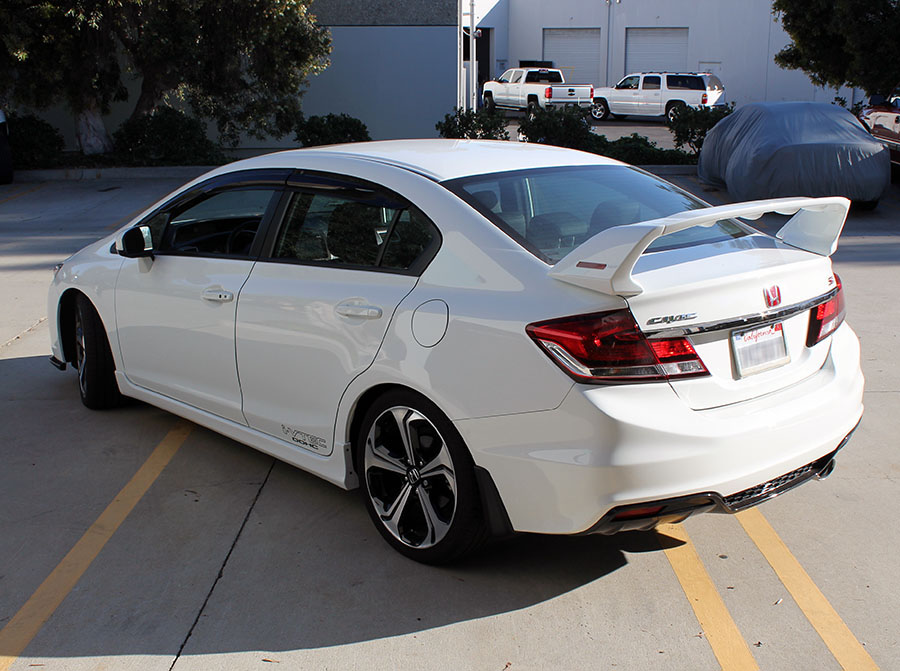 Pro Design Trm Style Spoiler Wing For 2014 Honda Civic