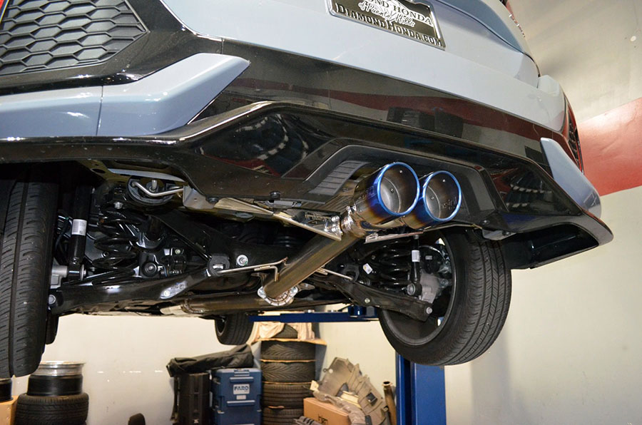 Honda Civic Exhaust System Diagram View Diagram