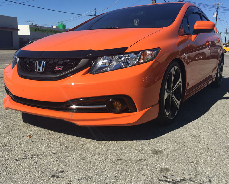 Pro Design Md Style Front Lip For 2013 Honda Civic