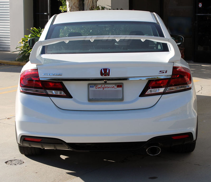 PRO Design TRM Style Spoiler / Wing for 2013 Honda Civic