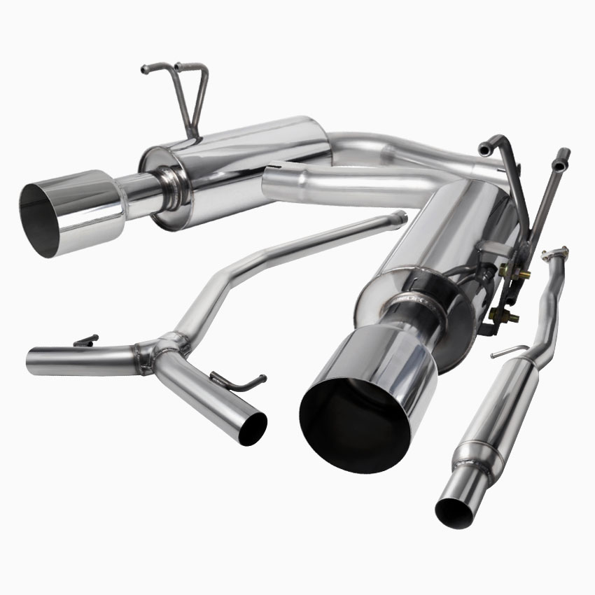 Pro Design Stainless Steel Exhaust System For 2017 Honda Civic Larger Image: Civic Stainless Exhaust At Woreks.co