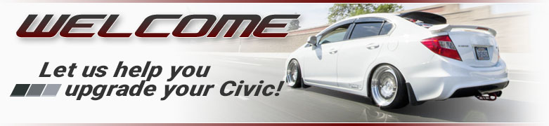 Aftermarket Parts for Honda Civic